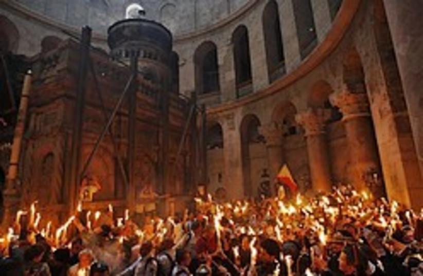 church of holy sepulchre 248.88 (photo credit: AP)