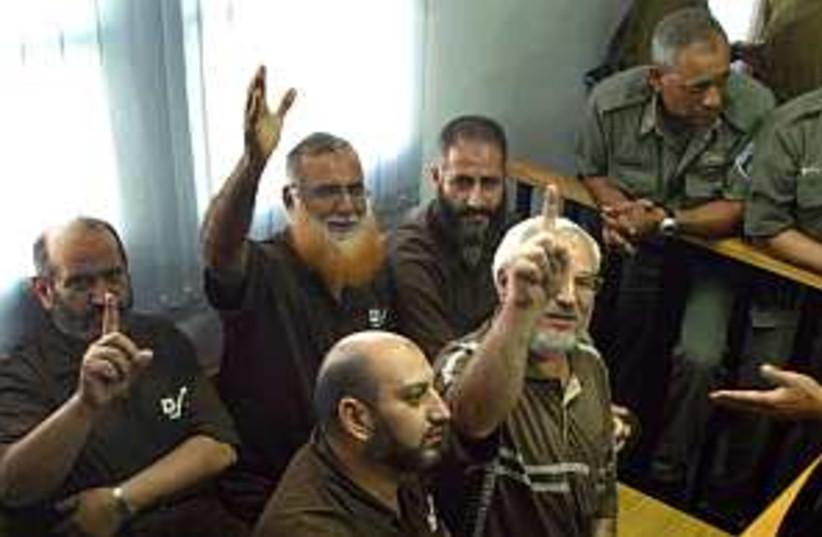 Hamas MPs 298.88 (photo credit: Ahmad Gharabli)