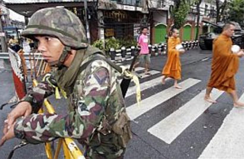 soldier thailand 298 ap (photo credit: AP)