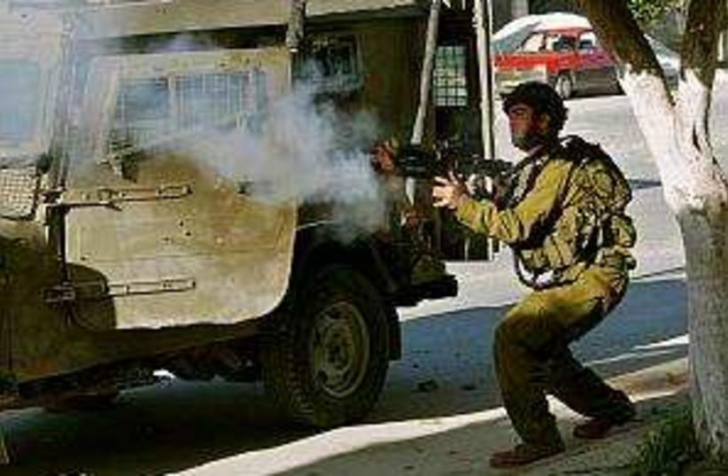 raid nablus 298 ap (photo credit: AP)