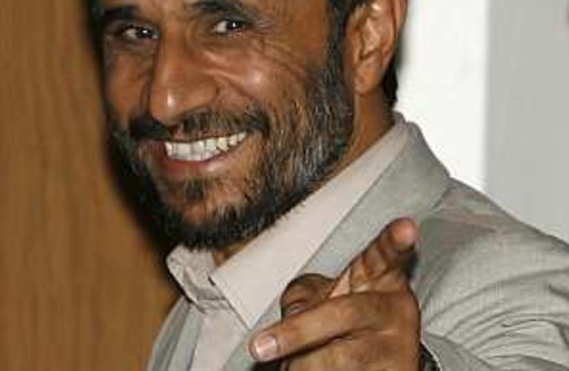 Ahmadinejad slick 298 88 (photo credit: AP [file])
