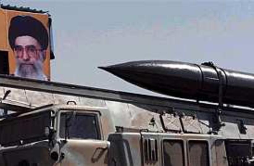 iran missile 298.88 (photo credit: AP)