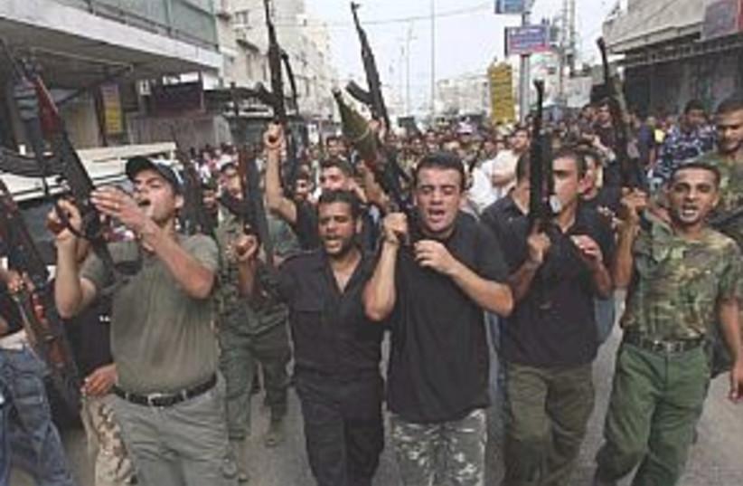 palestinian protest 298. (photo credit: AP [file])