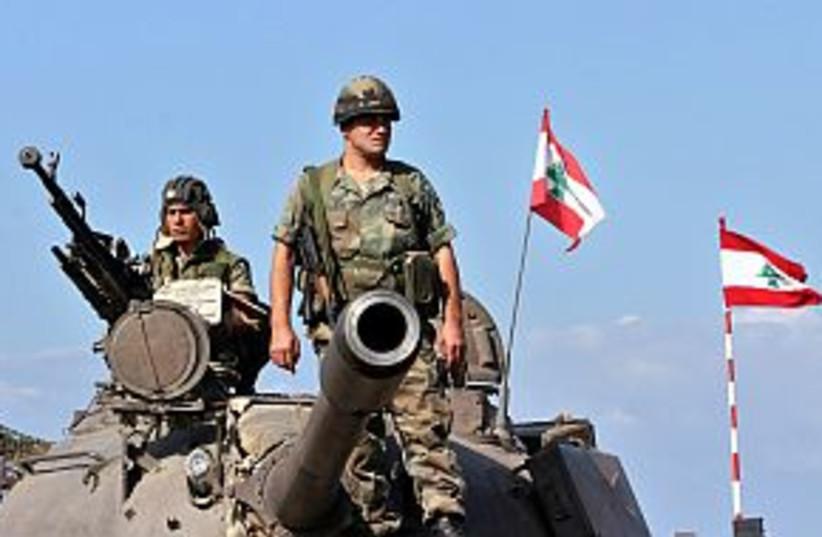 lebanon army 298 88 (photo credit: AP)