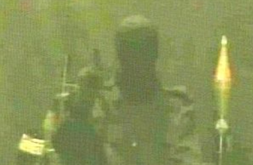 al-Qaida Palestine298 10 (photo credit: Channel 10)