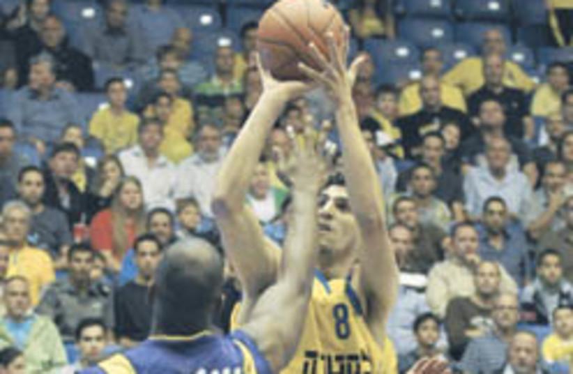 basketball (photo credit: Asaf Kliger)