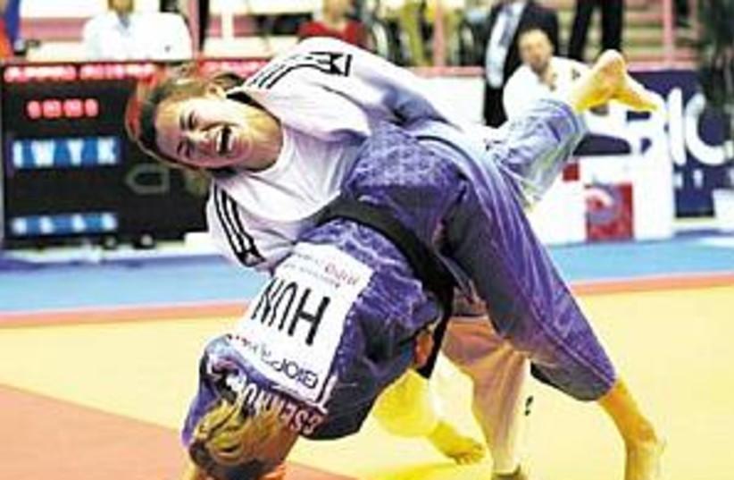 israeli judoka girls 298 (photo credit: Israel Judo Association)