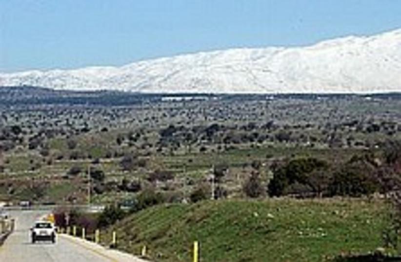 Golan Heights 224 88 aj (photo credit: Ariel Jerozolimski  [file])
