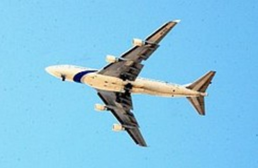 EL AL plane 1 248 88 (photo credit: Ariel Jerozolimski )