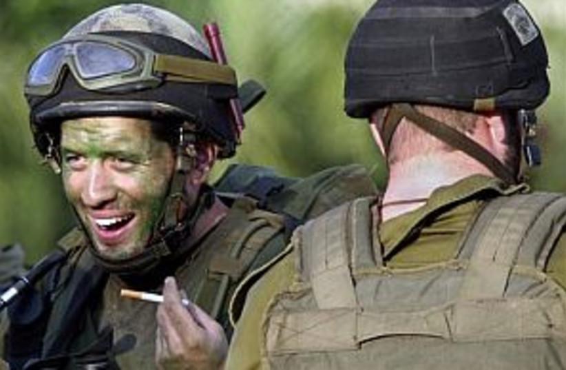 IDF smokes fag 298.88 (photo credit: )
