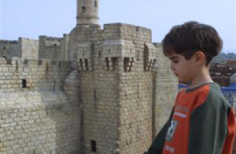 Tower of David in Jerusalem (photo credit: Ariel Jerozolimski)