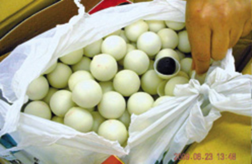 ping pong balls viagra 248.88 (photo credit: Pharmaceutical Crime Unit )