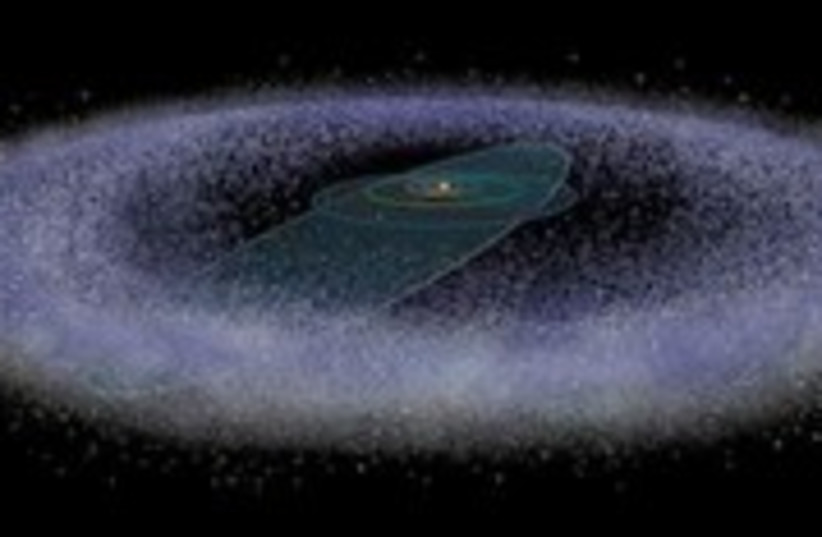astronomy solar system kuiper 248 88 (photo credit: Don Dixon / Scientific American)