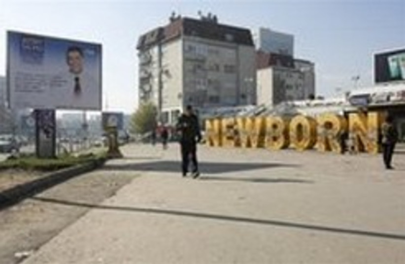 Kosovo Election 248 88 AP (photo credit: AP)