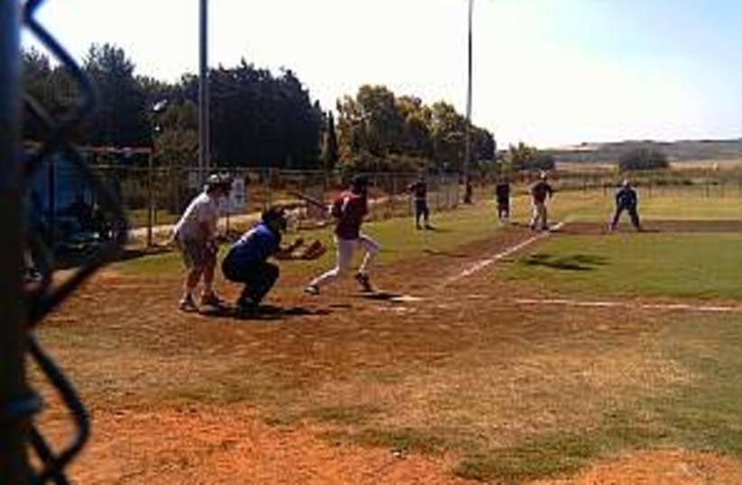 baseball 298 88 (photo credit: Jay L. Abramoff)