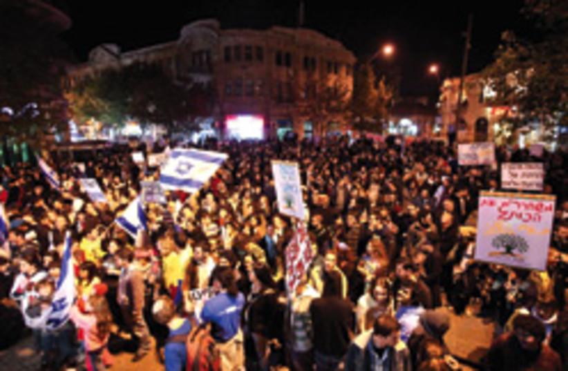 jerusalem anti haredi rally 248.88 (photo credit: AP)