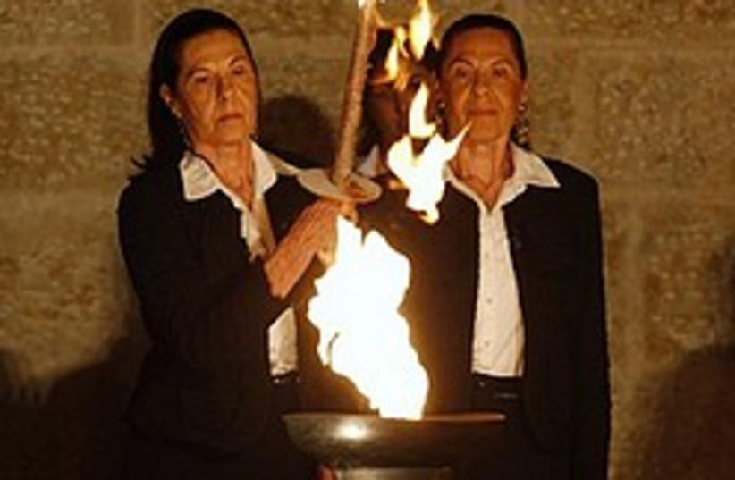 holocaust survivors yad vashem 248 88 ap (photo credit: AP)