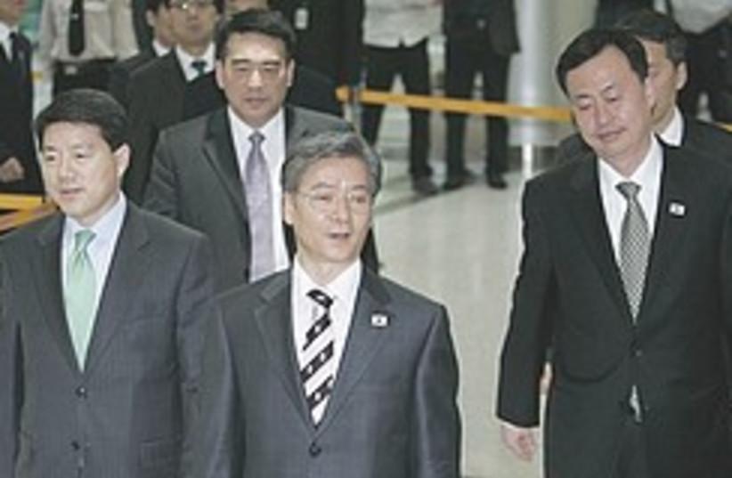 South Korea North Korea talks 248.88 (photo credit: AP)