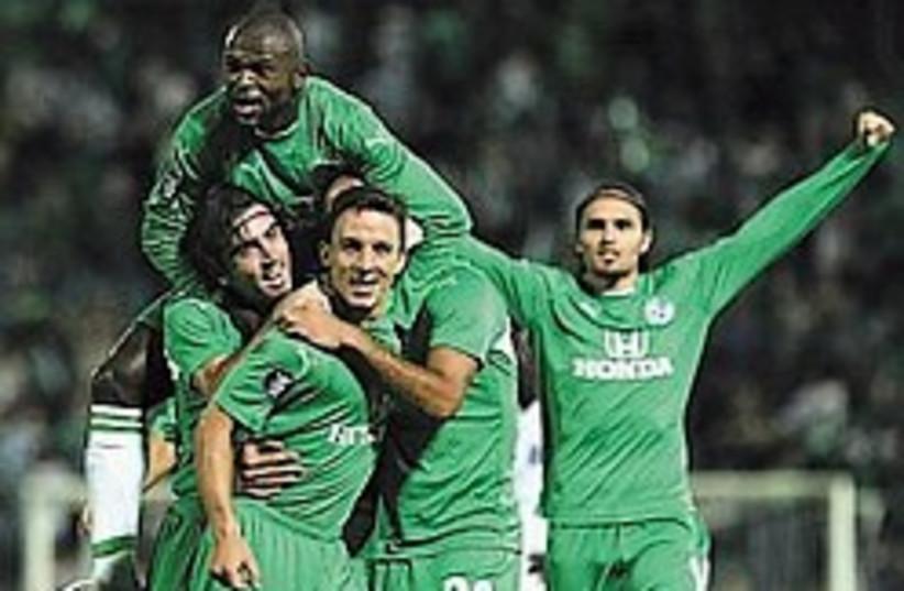 Maccabi Haifa 248.88 (photo credit: AP)