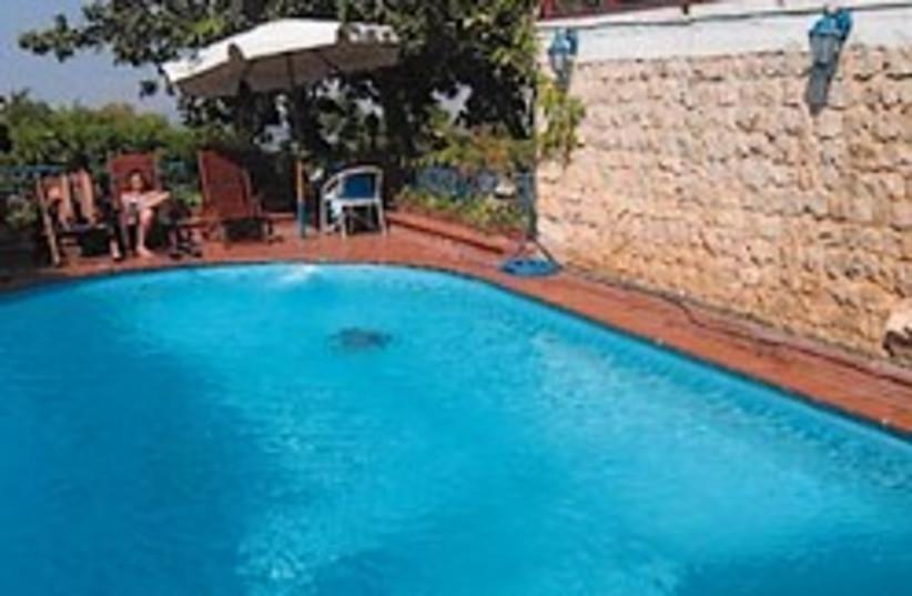 pool villa 88 248 (photo credit: )