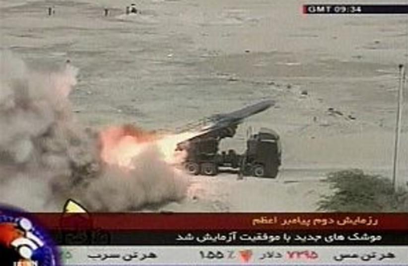 Iran missile 298.88 AP (photo credit: )