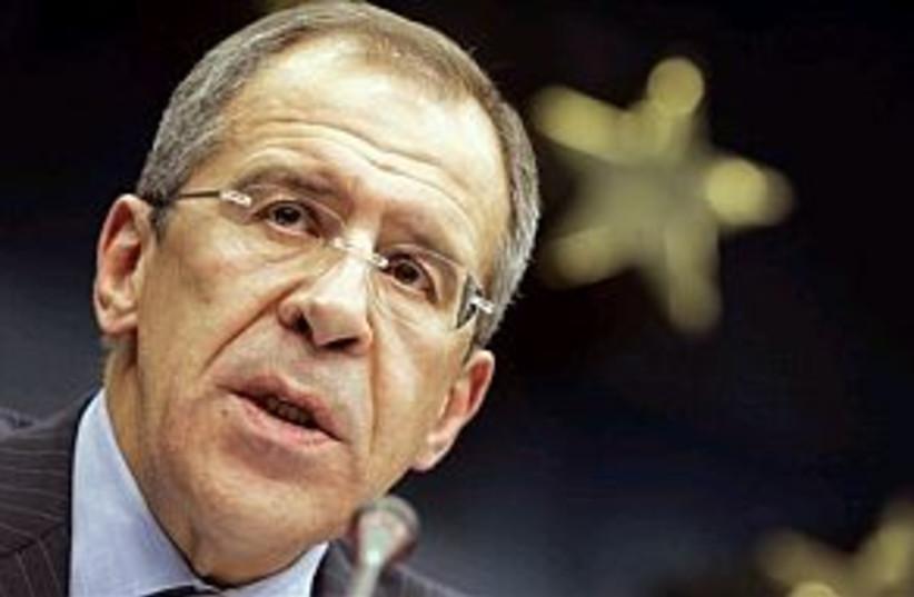 Sergey Lavrov 298.88 ap (photo credit: ap [file])