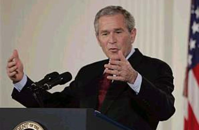 bush elections 298.88 (photo credit: AP [file])