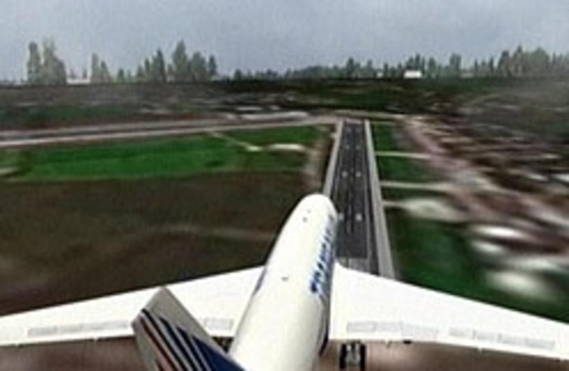 plane simulation 248 88 (photo credit: Channel 2)
