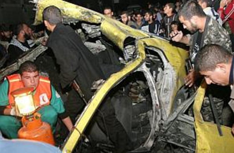 gaza airstrike 298.88 (photo credit: AP)