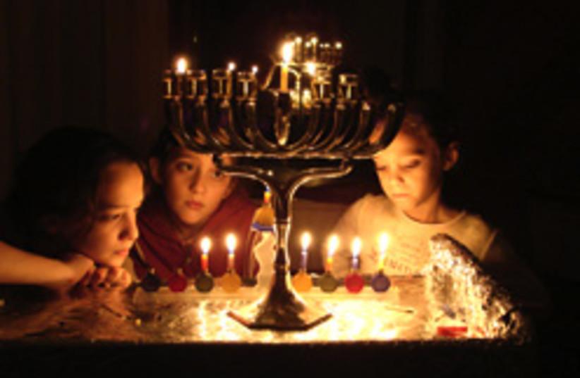 hanukkah candles good pic 248.88 (photo credit: Courtesy)