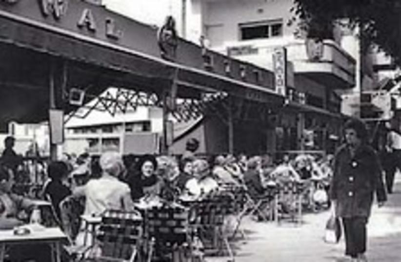 old photo tel aviv cafe (photo credit: Archive)