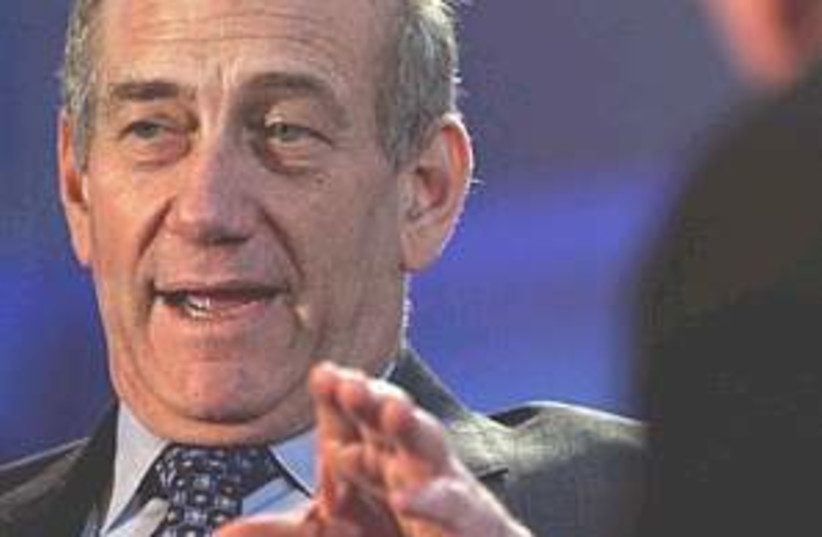 Olmert sky 298.88 (photo credit: AP)