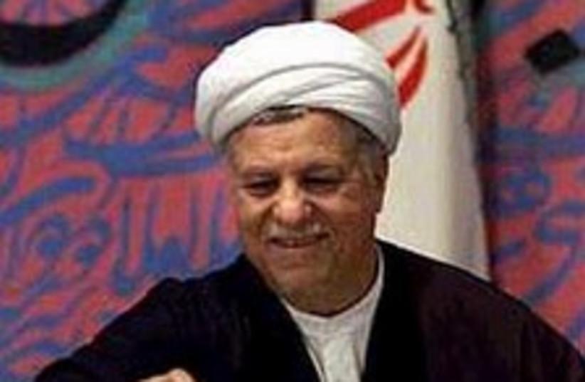 rafsanjani 224.88 (photo credit: AP [file])