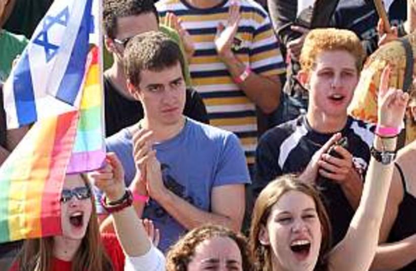 gay event 298.88 aj (photo credit: Ariel Jerozolimski)