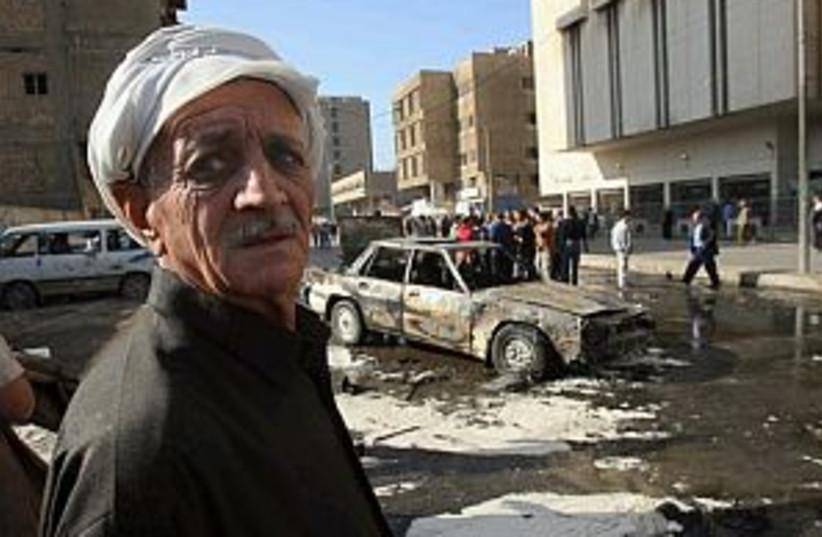 iraq car bomb 298 (photo credit: AP)