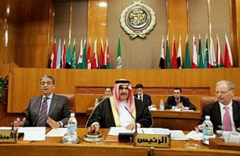 arab league 298.88 (photo credit: AP)