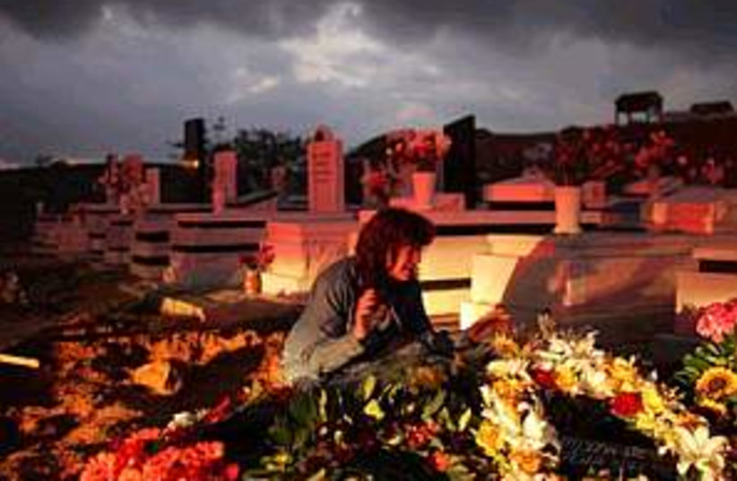 sderot funeral wow 298ap (photo credit: AP)