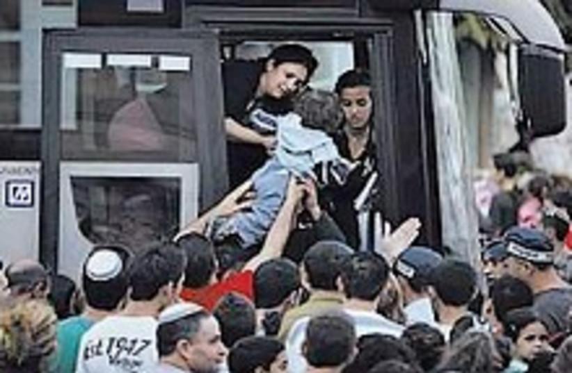 Sderot evacuation 224.88 (photo credit: AP)