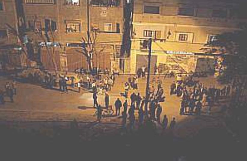 gaza human shield 298 (photo credit: AP)