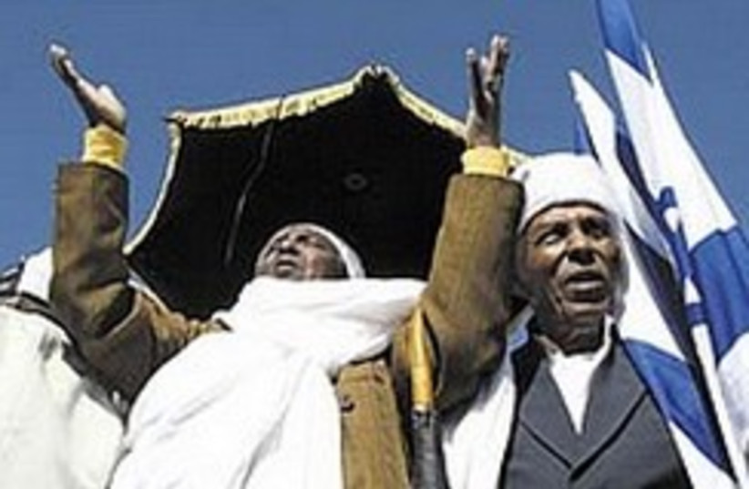 ethiopians sigd 224.88 (photo credit: Ariel Jerozolimski )