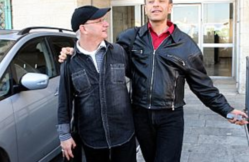 gay couple 298.88 (photo credit: Ariel Jerozolimski)