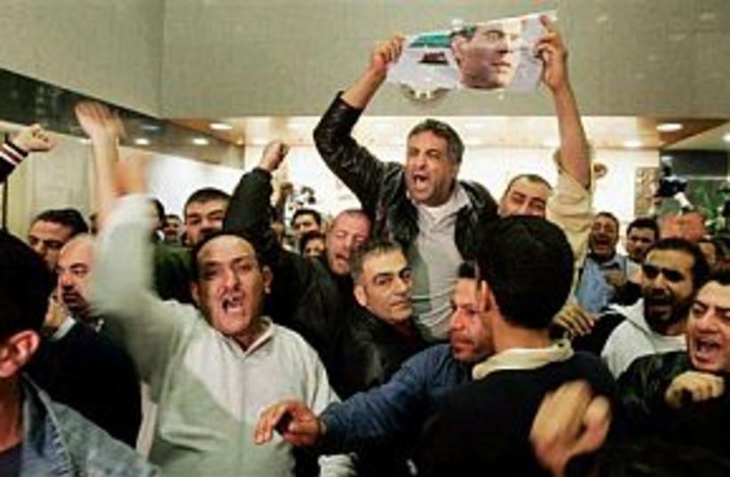 angry in lebanon 88 (photo credit: AP)