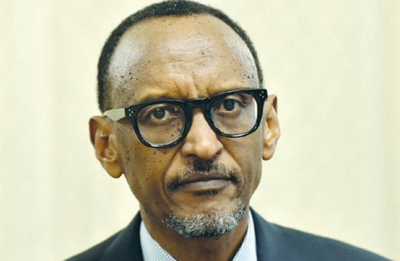 Rwanda's President Paul Kagame (photo credit: REUTERS)