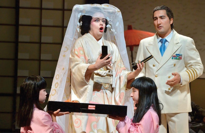 ISRAEL OPERA'S 'Madame Butterfly.' (photo credit: YOSSI ZWECKER)