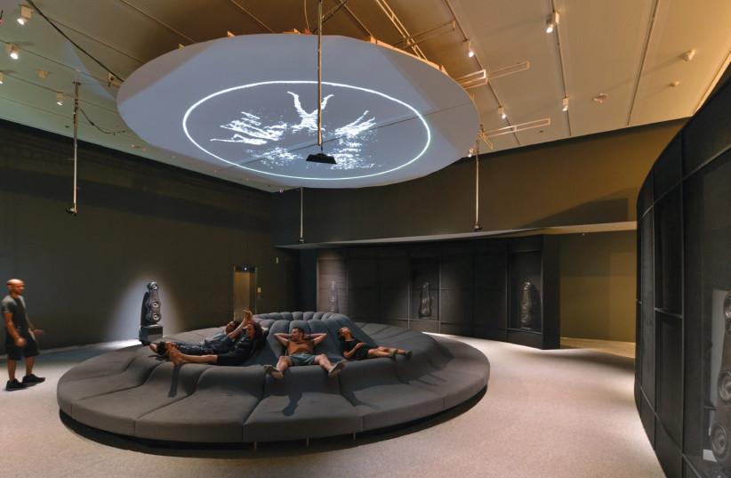 "The ""Sound"" exhibition at the Design Museum Holon. (photo credit: SHAI BEN EFRAIM)"