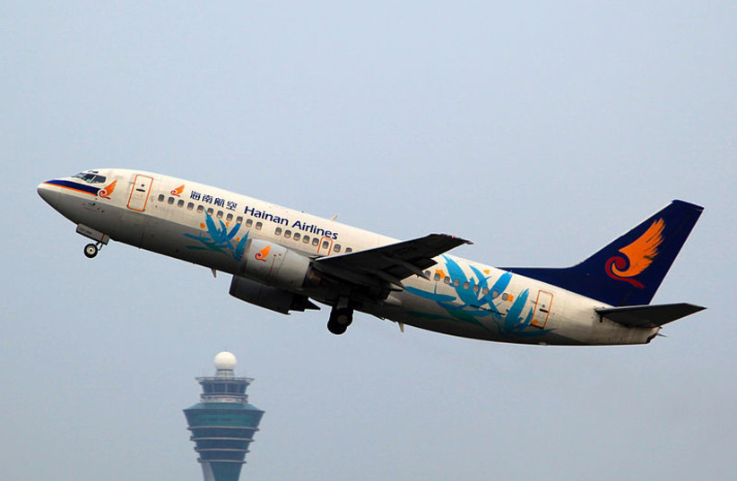 Hainan Airlines Boeing 737-33A B-2579/ (photo credit: BYEANGEL / WIKIMEDIA COMMONS)