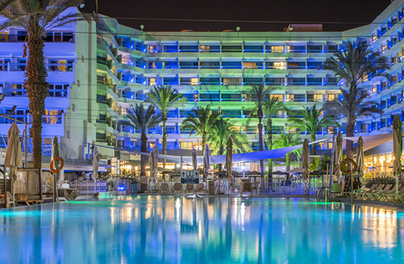 Rimonim Hotel in Eilat is the first hotel to offer Escape Room to their guests (photo credit: YEHUDA BEN-ITAH)