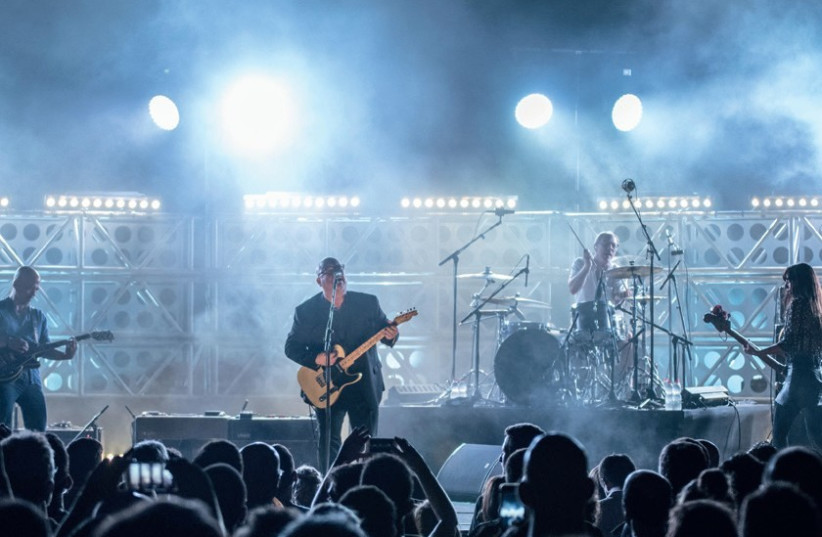 THE PIXIES show local fans that they transcend age, era and trend as they perform at Caesarea Amphitheater. (photo credit: LIOR KETER)