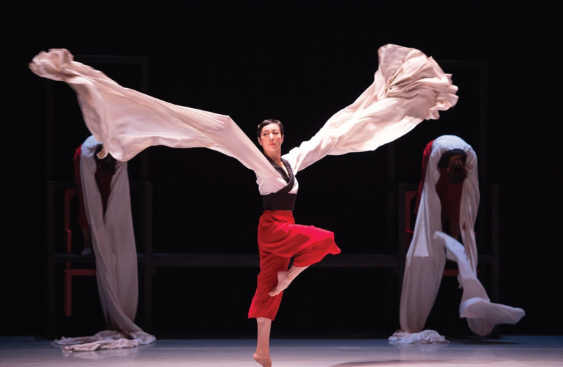 CITY CONTEMPORARY Dance Company's '365 Ways of Doing and Undoing Orientalism' (photo credit: CONRADO DY-LIACCO)