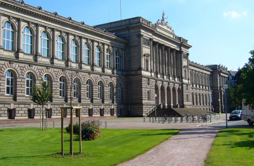 University Palace, main building of the University of Strasbourg (photo credit: JONATHAN MARTZ VIA WIKIMEDIA COMMONS)